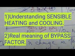 Sensible Cooling Psychrometric Chart Psychrometric Processes 1 Sensible Cooling And Heating
