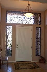 front door window curtainsFront Door Half Window Curtains Treatments Ideas Image Picture