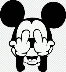 Mickey Mouse illustration, Mickey Mouse Minnie Mouse Drawing, mickey mouse,  face, heroes png