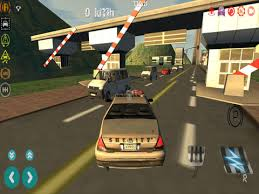 screenshot 1 for police car driving simulator 3d cop cars sd racing driver game