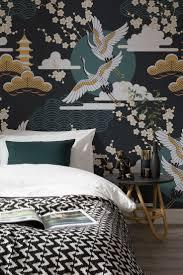 Dark Sky Oriental Wallpaper