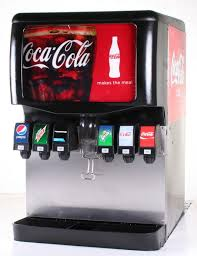 Small Soda Vending Machine New Ibd48 48Flavor Ice Beverage Soda Fountain System