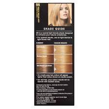John Frieda Precision Foam Color Chart John Frieda Foam Hair Color Extra Light Natural Blonde