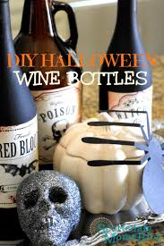 Decorating Empty Wine Bottles DIY Halloween Decorations using empty wine bottles 89