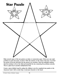 printable star star puzzle parents scholastic com