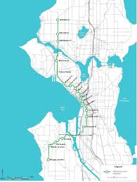 map of the green line
