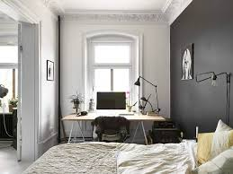 I had to sneak in a couple of photos of the bedroom too as it ticked a lot  of boxes for me. White, black and gold  very nice.