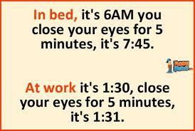 Funny Memes - In bed vs at work | FunnyMeme.com via Relatably.com