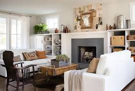 country decorating ideas for living rooms. Country Decorating Ideas For Living Room Cool Neutral Farmhouse Fresh Rooms 4
