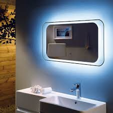 RAK Harmony LED Bathroom Mirror 900 x 500mm Flush Bathrooms