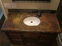 bathroom countertops sink  ideas about concrete countertops bathroom on pinterest white framed m
