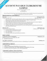 Payroll Clerk Resume Inspiration Payroll Clerk Resume Resume For Payroll Clerk Payroll Clerk Duties