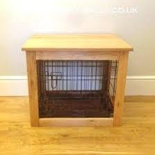 luxury dog crates furniture. Dog Crate Furniture Cage Oak Luxury Crates Large .