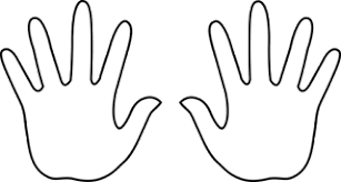 Free Handprint Template Printable Download Free Clip Art Free Clip