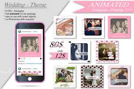 These websites have editors where you can create animated svgs by adding animations. Animated Instagram Templates Wedding Inc Custom Support Example Image Instagram Template Templates Free Design Facebook Design