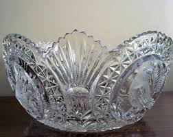 Decorative Clear Glass Bowls Hofbauer candy dish Etsy 19