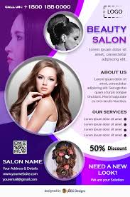 Download Free Free Beauty Salon Flyer Design Templates