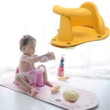 4 colors baby child toddler kids anti slip safety chair bath tub ring seat infant green pink blue yellow