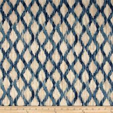 Kelly Ripa Home Floating Trellis Indigo - Discount Designer Fabric - Fabric .com
