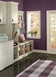 Purple Paint Colors For Bedrooms Striking Purple Entry Wall Color Kalamata Trim Color
