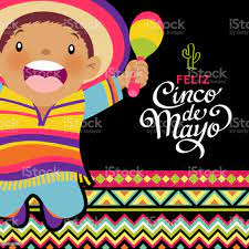Happy Kids Celebrating Cinco De Mayo ...