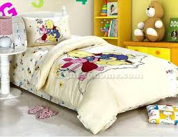light yellow the pooh bedding winnie sheets bed set full size
