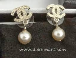 chanel earrings price. http://store.dokumart.com/ch-e-03/ chanel earrings price