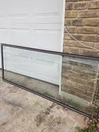 patio storm door 31x75 beveled glass insert