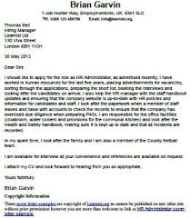 hr administrator cover letter example forumslearnistorg hr cover letter examples