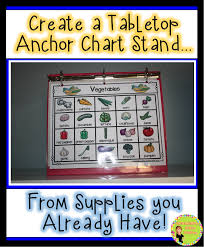 Anchor Chart Holder Diy Diy Mini Chart Stands Differentiation Station Creations