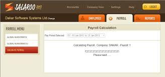 Internet Payroll Payroll Software Salaroo Dakar Software Systems