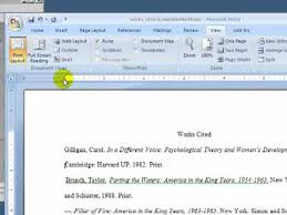 How To Make Mla Format On Microsoft Word Image Of Supported Citation Styles The Header Will Appear At The