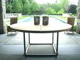 large outdoor dining table square outdoor dining table large round outdoor dining table easy pieces round