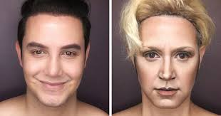 guy turns himself into game of thrones characters using only make up
