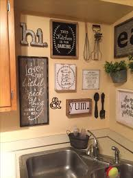 kitchen wall decor ideas diy and
