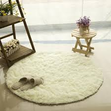9 sizes fluffy round rug carpets for living room kilim faux fur carpet kids room long plush rugs for bedroom gy area rugs blanket dark blue throw