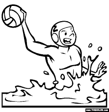Sports Online Coloring Pages Page 1
