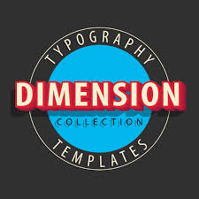 Typography Templates Shadow Thevectorlab