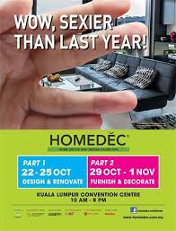 Small Picture HOMEDEC 2015 Home Decor Design Exhibition CloudHAX Property News