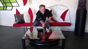 Industrial Fan Coffee Table Industrial Fan Coffee Table By Louie Tozser Design Youtube