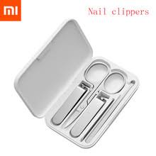 5pcs <b>Xiaomi Mijia Stainless</b> Steel Nail Clippers Set Trimmer ...