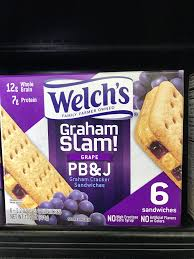 welch s graham slam g pb j new food items in 2019 food food items ers