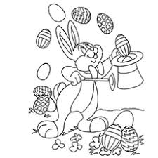 Small Picture Top 15 Free Printable Easter Bunny Coloring Pages Online
