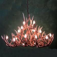 antler chandelier kit luxury although deer antler chandelier