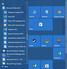 Microsoft Menu Some Start Menu Shortcuts Are Missing On Windows 10 Super User