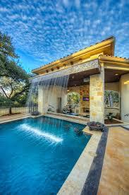 Custom Backyard Pool Designs Outdoor Living Diamante Custom Homes Pool Houses