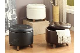 round storage ottoman leather coffee table target with ottomans tufted cocktail wit black furniture amazing for home ideas cloth white fabric wood and glass
