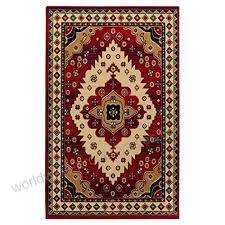 superior aztec collection 8 x 10 area rug attractive rug with jute backing durable