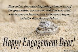 40 Engagement Wishes Messages And Greetings WishesMsg Adorable One Year Complete Engagement Status Hubby