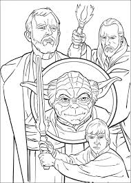 Coloring Page Star Wars Kids Coloring Pages To Print Adult